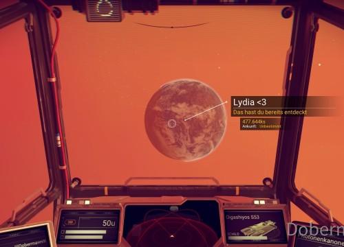 Ein Planet, nach meiner Frau, meiner Muse, meinem Leben benannt.