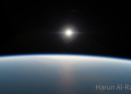 Sonne von der Erde aus