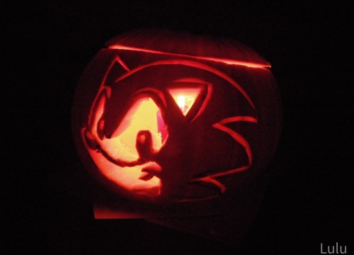 Sonic Pumpkin