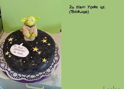 Yoda-Torte das ist.