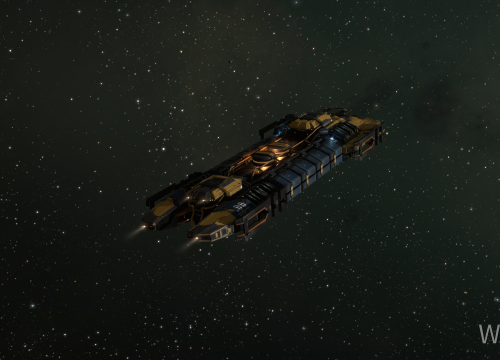 Endlich größeres Bergbauschiff