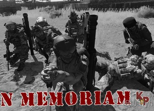 Im Gedenken an unsere tapferen Soldaten
