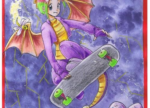 Spyro Style Skating