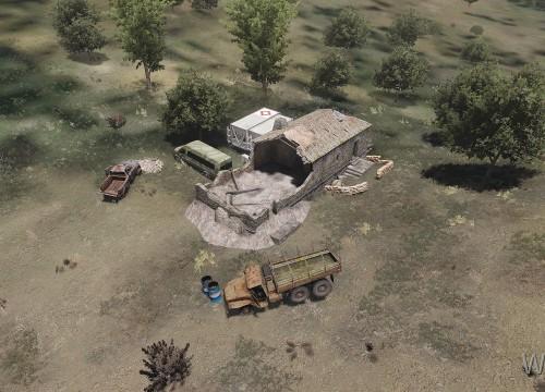 Unvisited camp