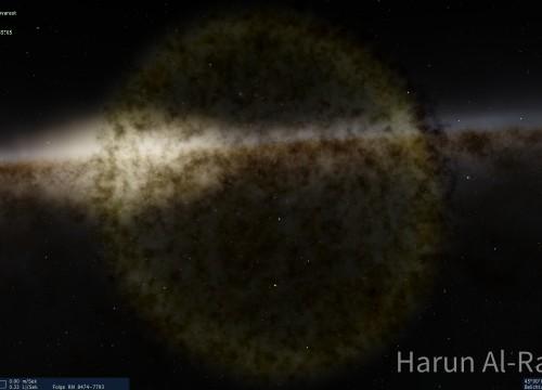 Supernovareste 2LJ entfernt