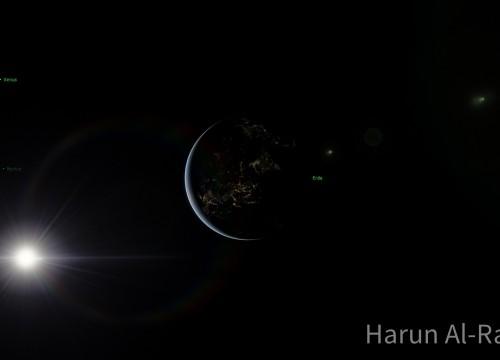 Erde und Sonne