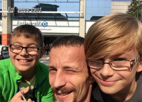 Ich und meine 2 Jungs