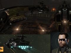 Erstes Schlachtschiff der Corp - Megathron