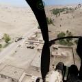 Absetzzone und Luftunterstützung