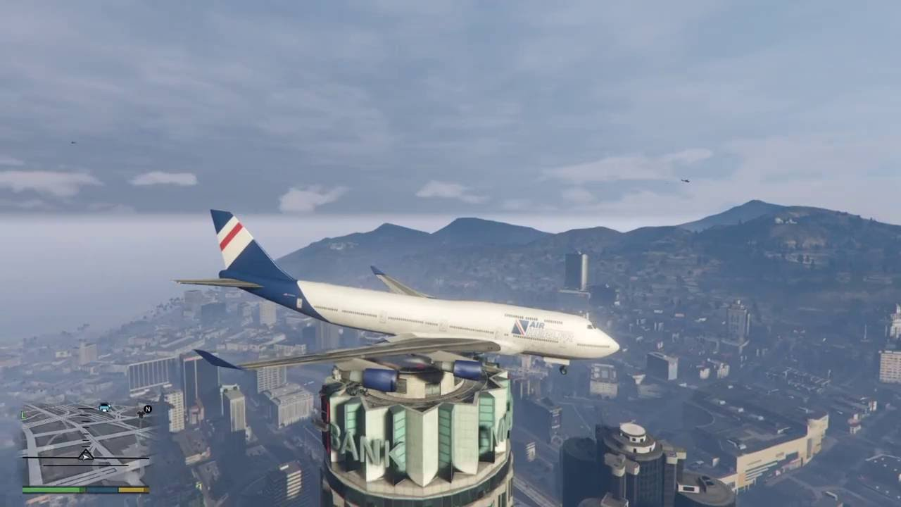CaRLiTo Airways Skill Landing
