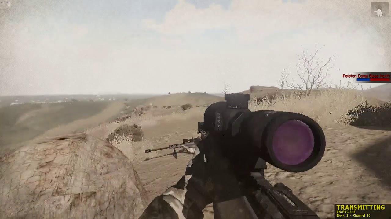 Arma Session 11.4.18 Sniper PoV mit Martin