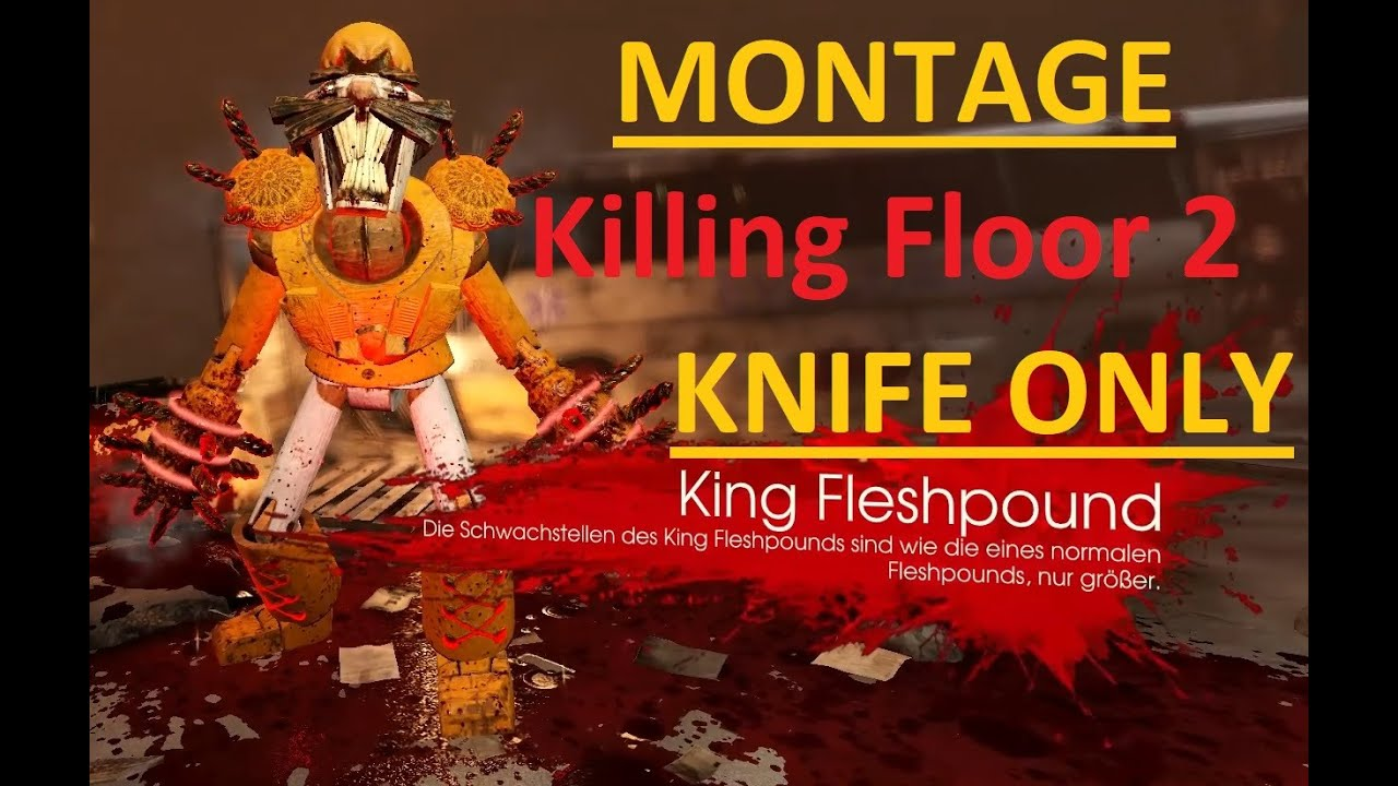 Best of Knife Only | Hell on Earth | Nuked | Killing Floor 2 Montage