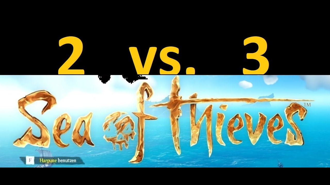 | Sloop vs. Brigantine | Sea of Thieves | A balanced Fight |